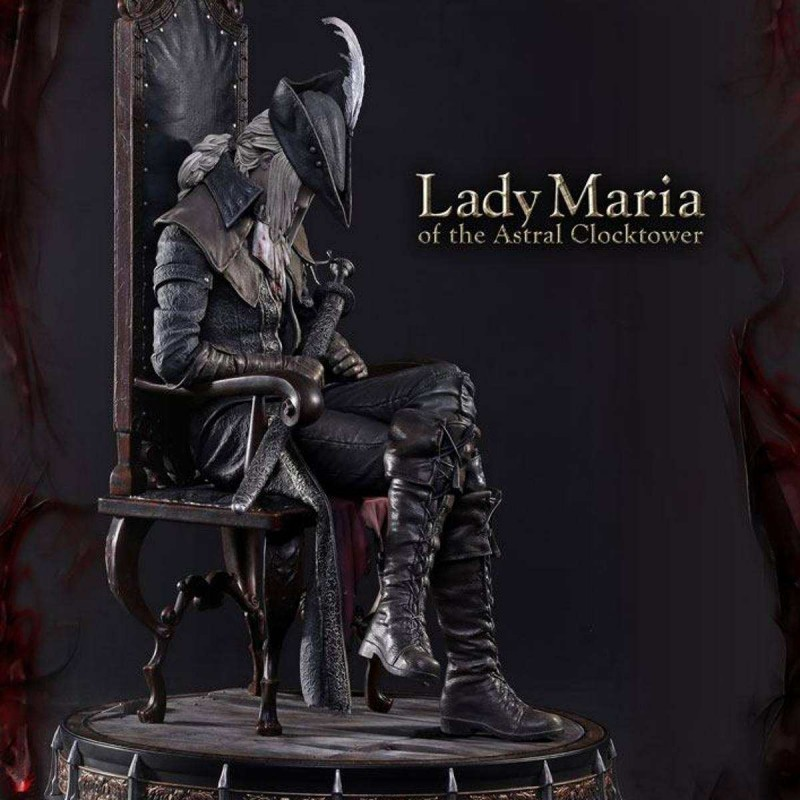 Lady Maria of the Astral Clocktower P1S Exclusive - Bloodborne - Polystone Statue