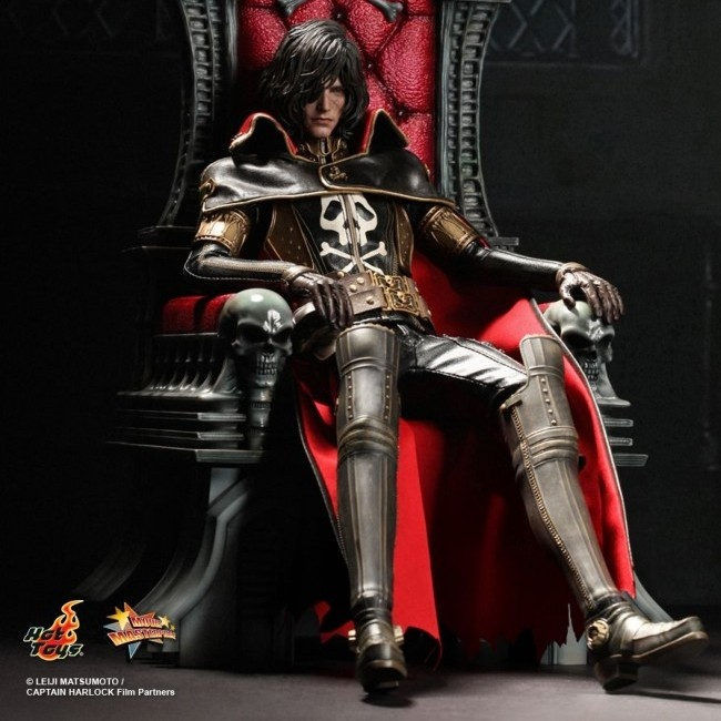 Captain Harlock with Throne - 1/6 Scale Figuren Set