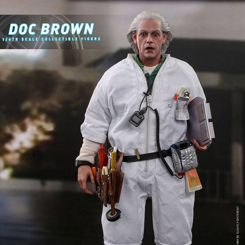 Doc Brown - Back to the Future - 1/6 Scale Figur