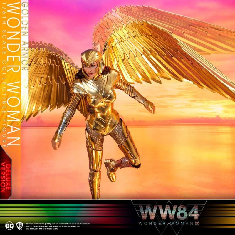 Golden Armor Wonder Woman (Deluxe)- Wonder Woman 1984 - 1/6 Scale Figur