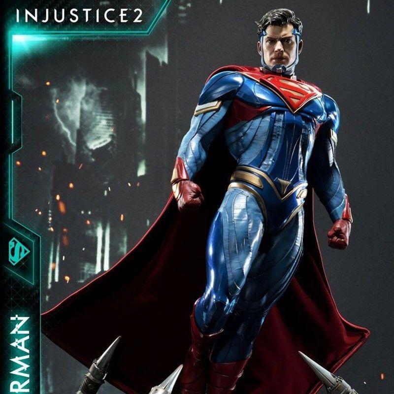 Superman - Injustice 2 - 1/4 Scale Statue