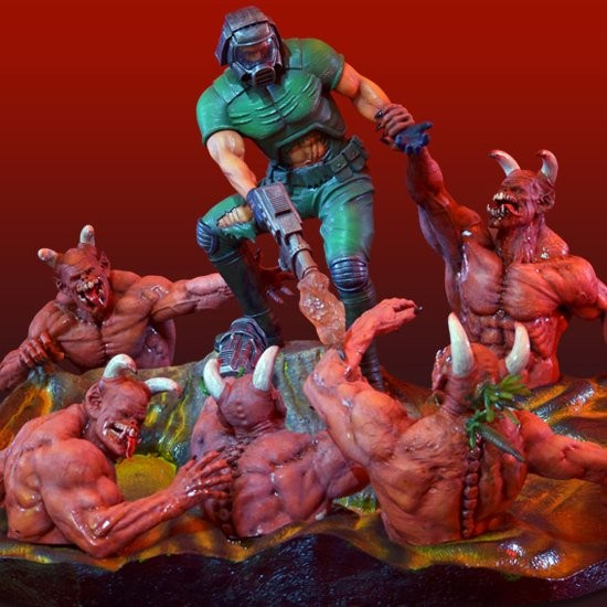 Knee Deep In The Dead - Doom - Diorama
