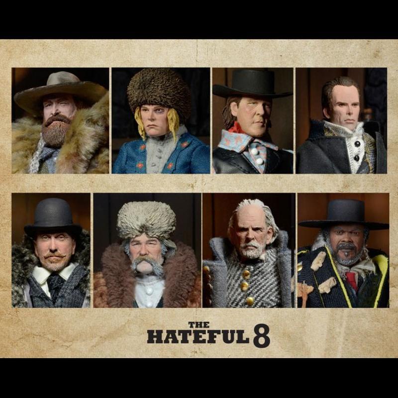 The Hateful Eight - Actionfiguren Set