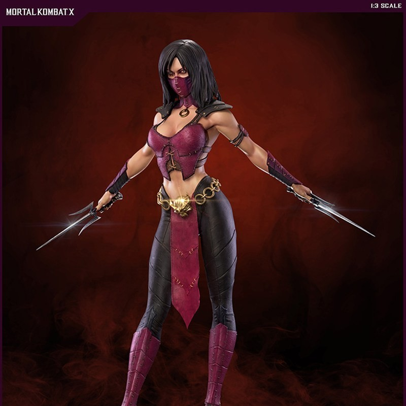 Mileena - Mortal Kombat - 1/3 Scale Statue