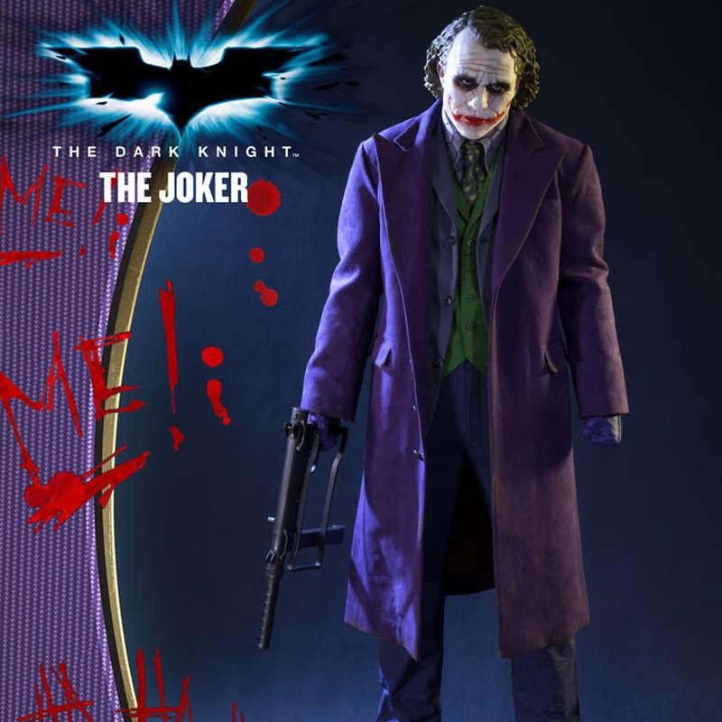 The Joker - The Dark Knight - 1/2 Scale Statue