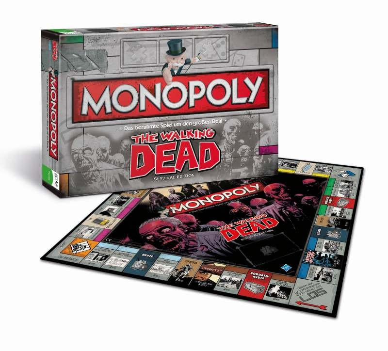 The Walking Dead Brettspiel