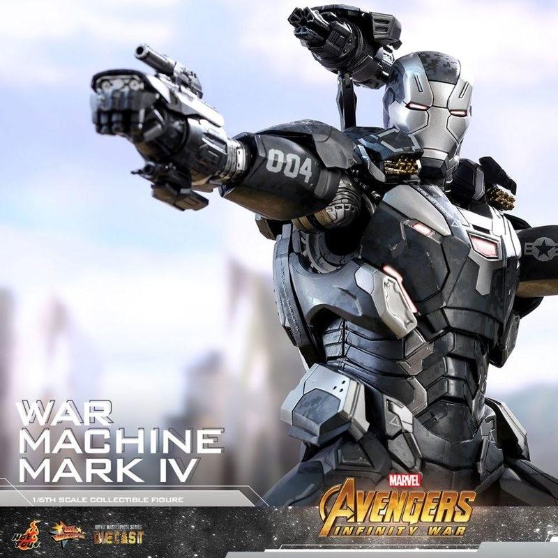 War Machine Mark IV - Avengers Infinity War- Diecast 1/6 Scale Figur