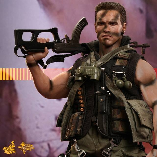 John Matrix - Commando - 1/6 Scale Action Figur