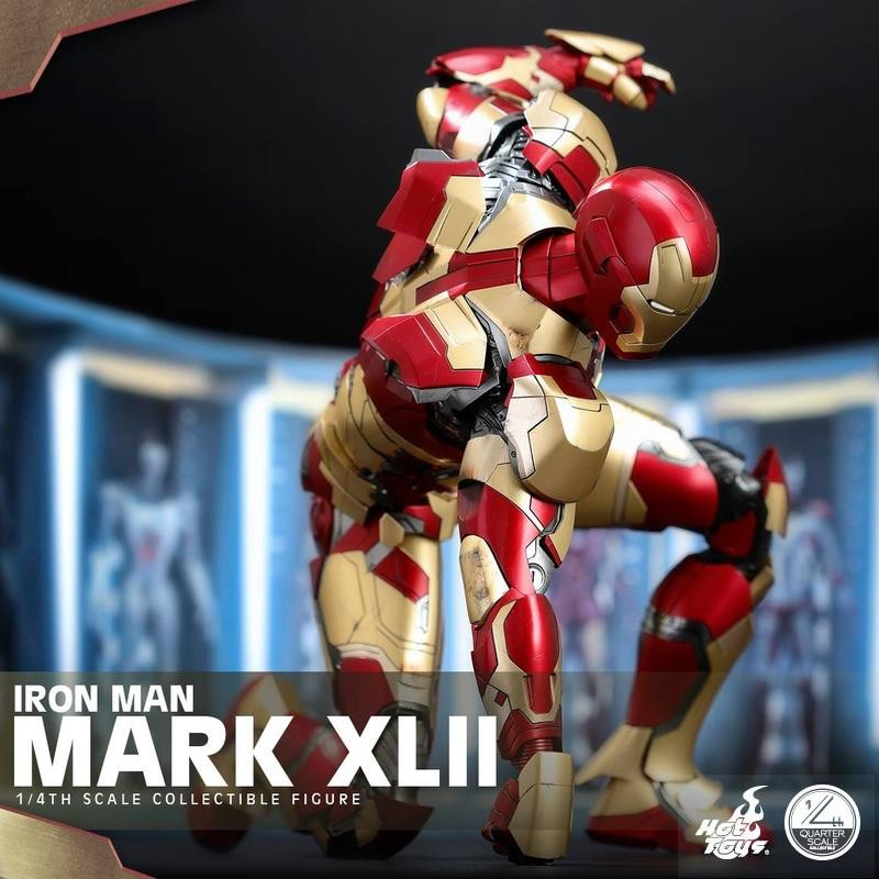 Iron Man Mark XLII - Iron Man 3 - 1/4 Scale Figur