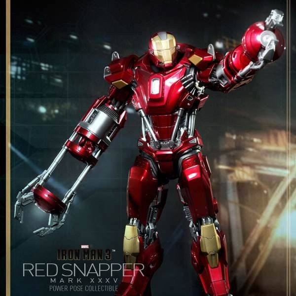 Red Snapper Mark XXXV - Iron Man 3 - 1/6 Scale
