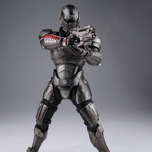 Commander John Shepard - Mass Effect 3 - 1/6 Scale Figur