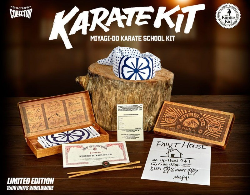 Karate Kid Miyagi-Do Karate School Kit Limited Edition