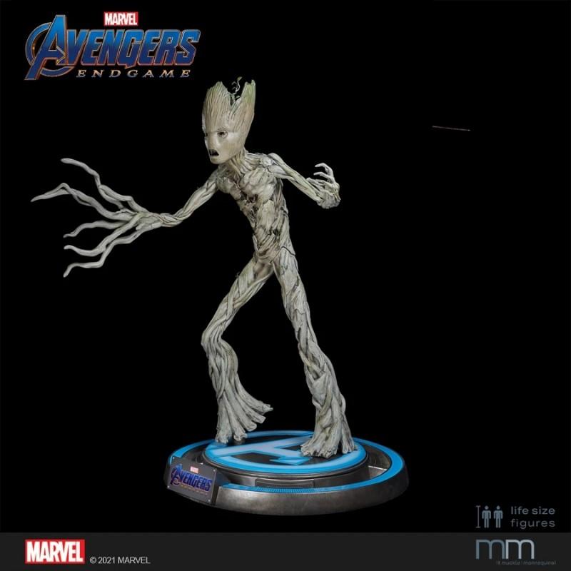 Groot Teenager - Avengers Endgame - Life-Size Statue