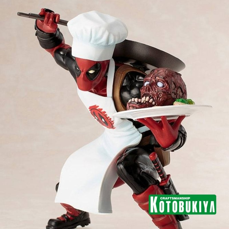 Cooking Deadpool - Marvel Comics - ARTFX+ Statue