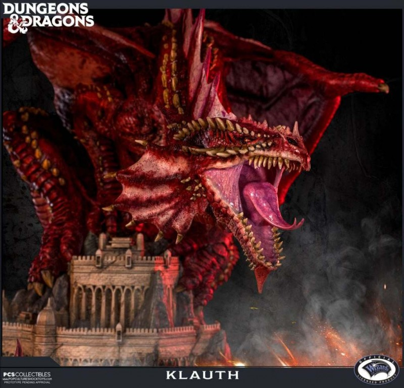 Klauth - Dungeons & Dragons - Polystone Statue