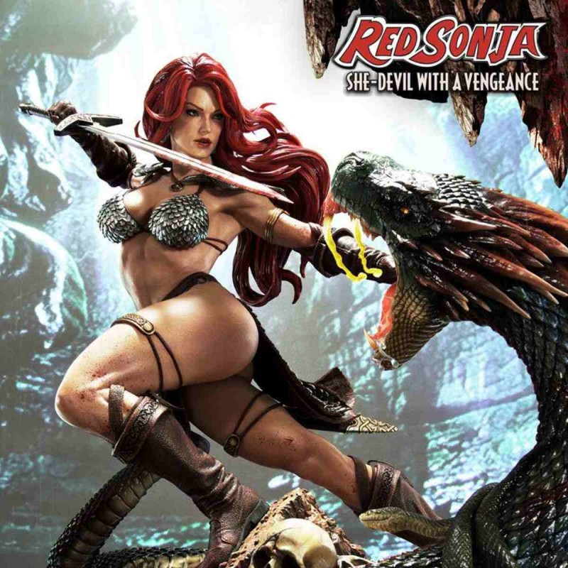 Red Sonja She-Devil with a Vengeance - Red Sonja - 1/3 Museum Masterline Statue