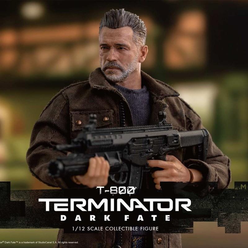 T-800 - Terminator: Dark Fate - 1/12 Scale Figur
