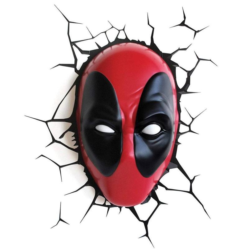 Deadpool - Marvel - 3D Deko Licht