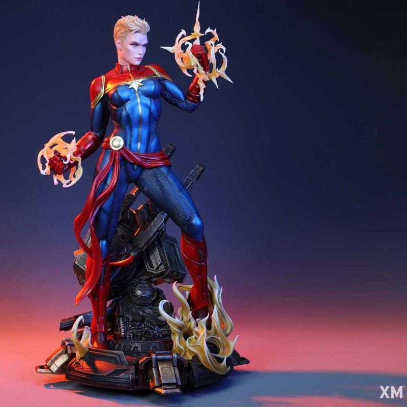 Captain Marvel - Marvel Comics - 1/4 Scale Premium Statue
