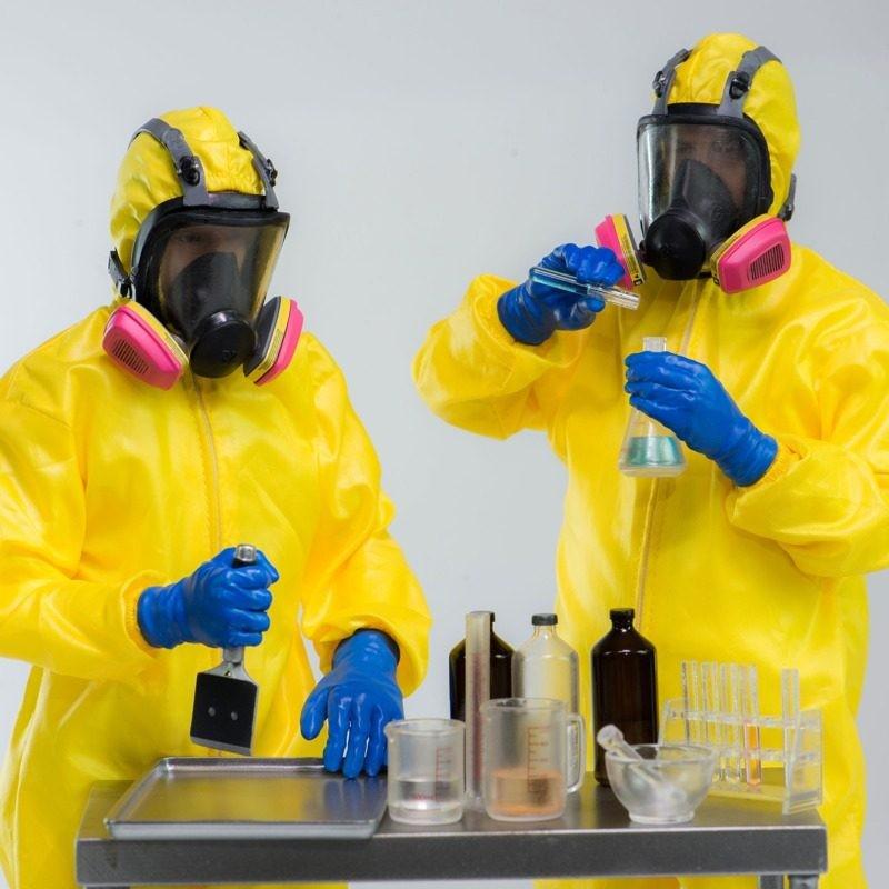 Heisenberg & Jesse Pinkman Hazmat Suit - Breaking Bad - 1/6 Scale Figuren Set