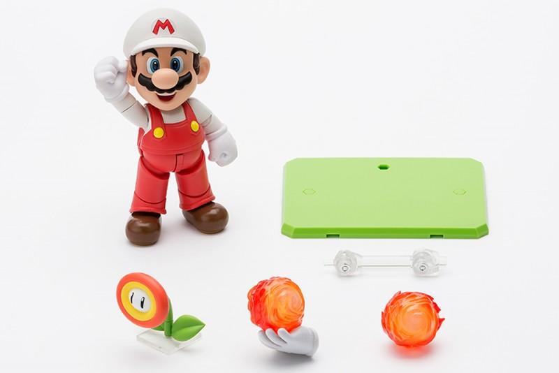 Feuer Mario - Super Mario Bros. - S.H. Figuarts
