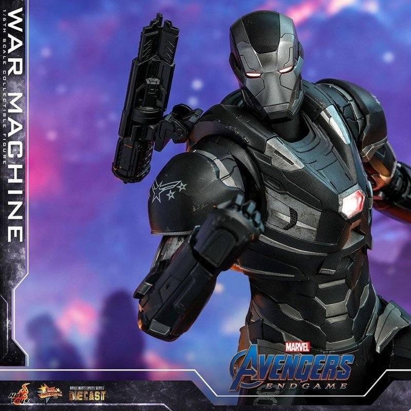 War Machine - Avengers: Endgame - Diecast 1/6 Scale Figur