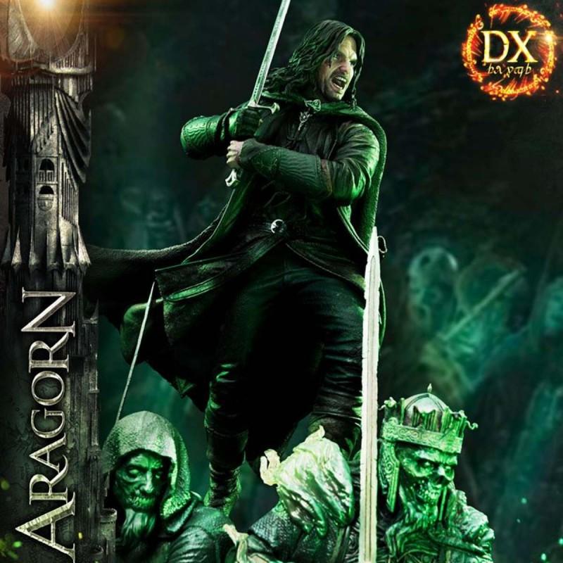 Aragorn Deluxe Version - Herr der Ringe - 1/4 Scale Polystone Statue