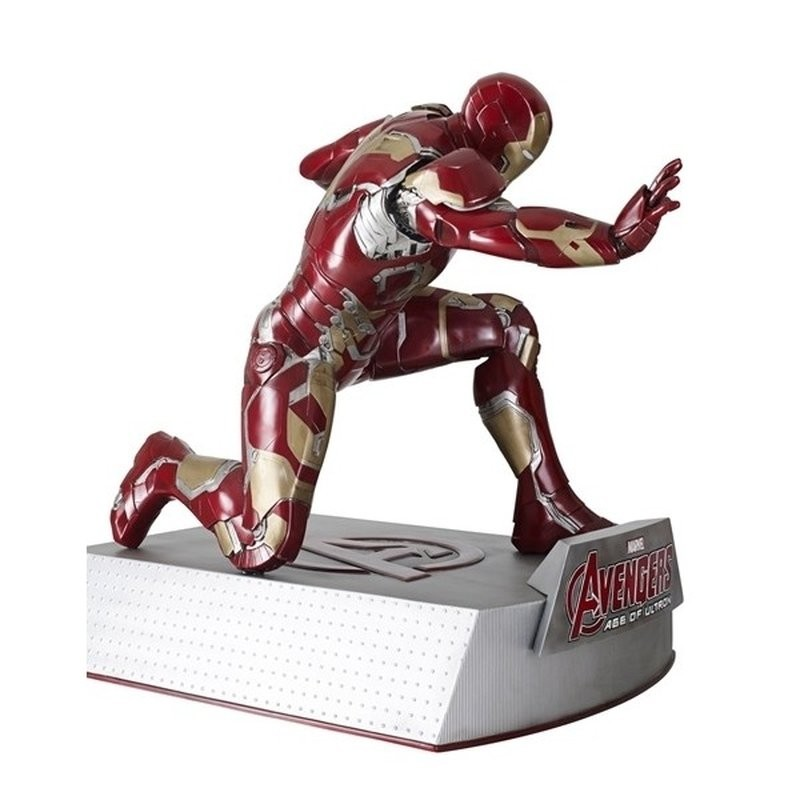 Iron Man kniend - Avengers Age of Ultron - Life-Size Statue