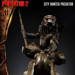 City Hunter Predator - Predator 2 - 3D Wand-Relief