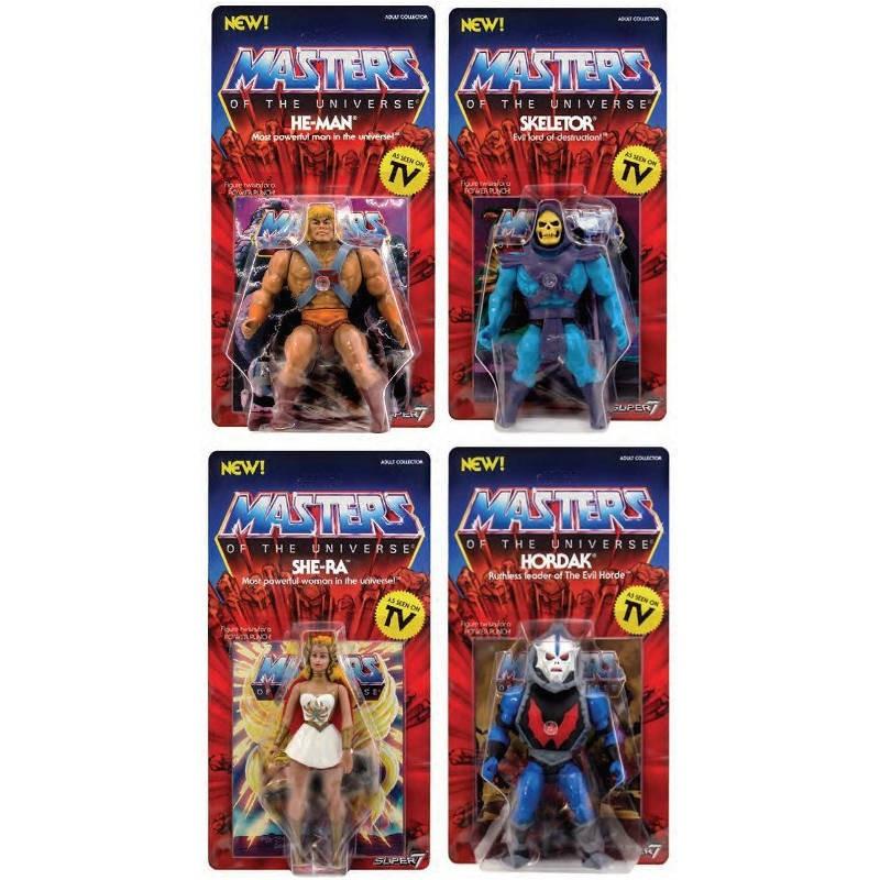 Masters of the Universe - Vintage Collection Actionfiguren Set14cm