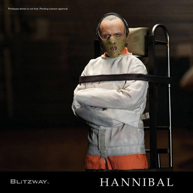 Hannibal Lecter Straitjacket Version - Das Schweigen der Lämmer - 1/6 Scale Figur