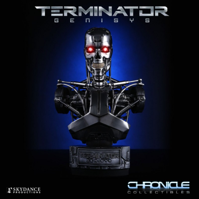 Endoskeleton - Terminator Genisys - 1/2 Büste