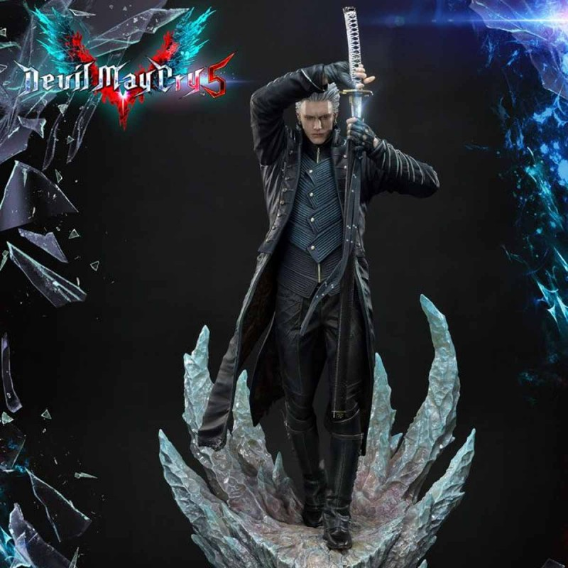 Vergil - Devil May Cry 5 - Polystone Statue