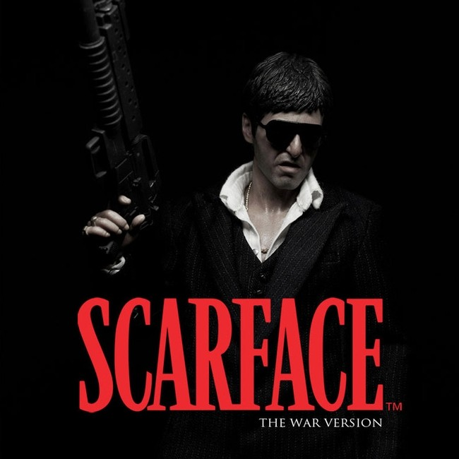 Scarface - The War Version - 1/6 Scale Figur