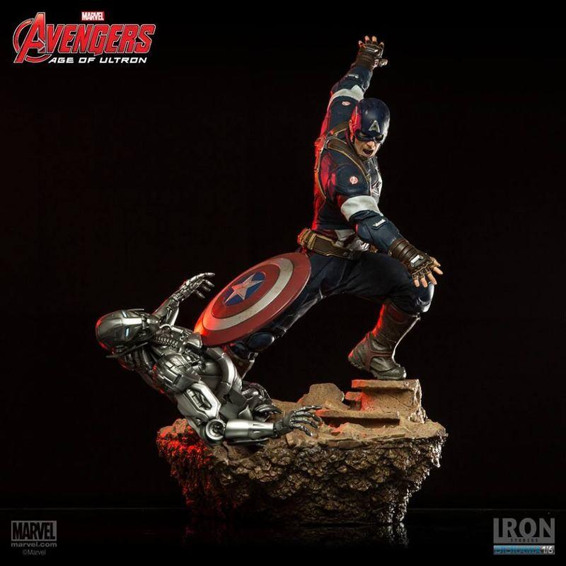 Captain America - Avengers - 1/6 Scale Diorama