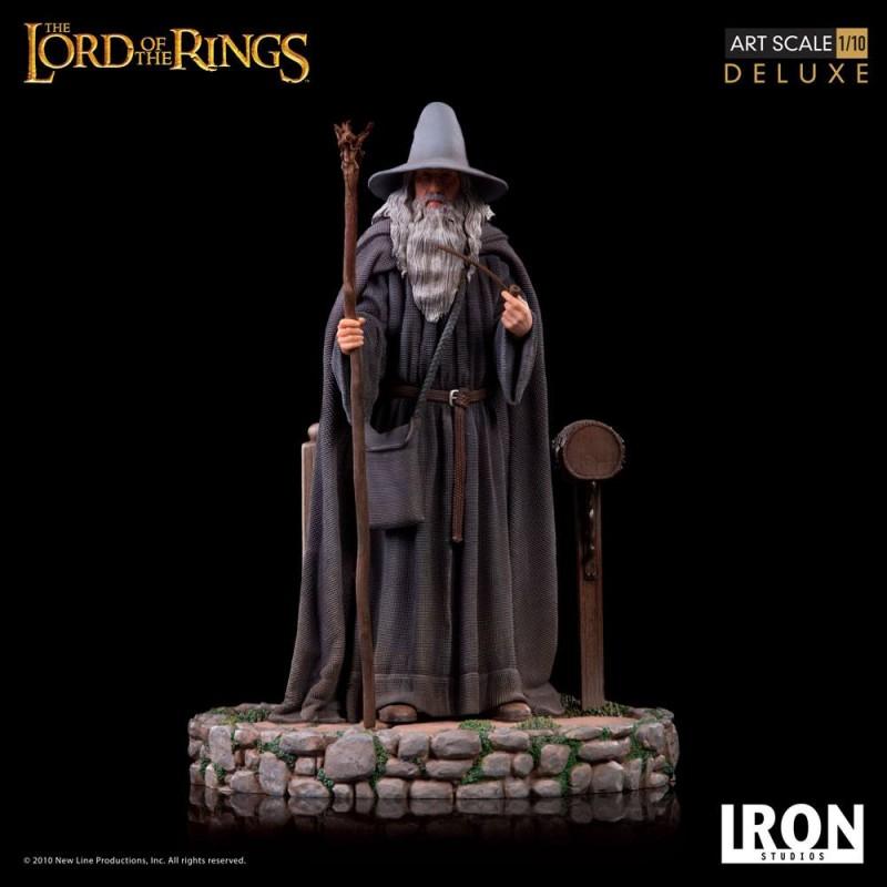 Gandalf - Herr der Ringe - 1/10 Deluxe Art Scale Statue