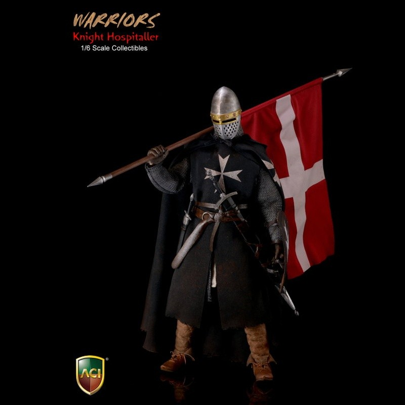 Knight Hospitaller Crusader - 1/6 Scale Actionfigur