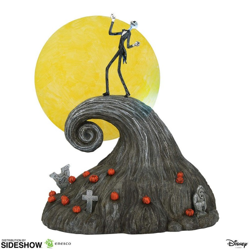 Statue Jack on Spiral Hill - Nightmare Before Christmas - Resin Statue 23 cm
