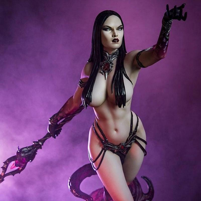 Dark Sorceress: Guardian of the Void - Sideshow Originals - Polystone Statue