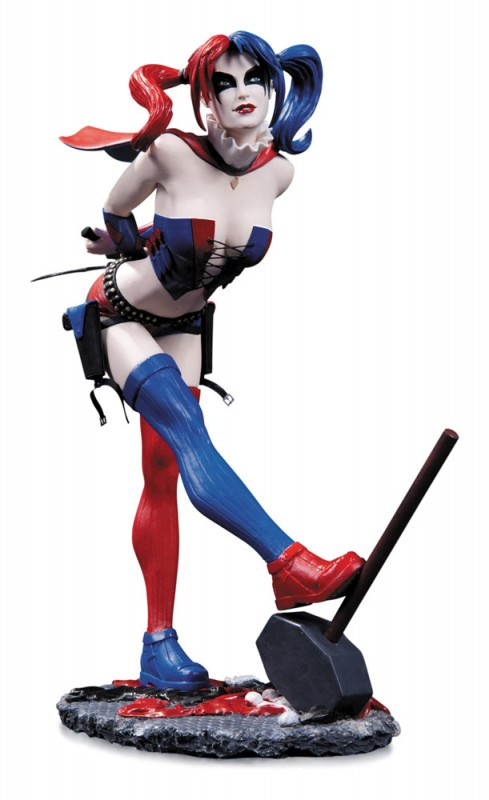 Harley Quinn 2nd Edition - DC Comics Cover Girls - Resin Statue