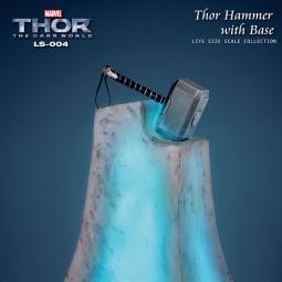 Thors Hammer mit Base - Thor - 1/1 Replik
