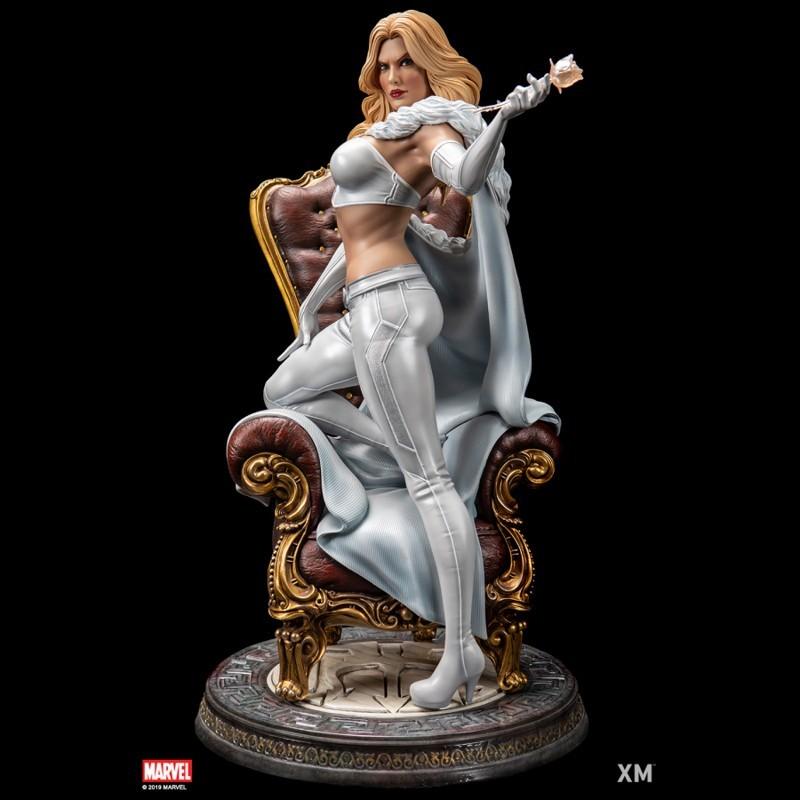 Emma Frost - Marvel Comics - 1/4 Scale Premium Statue