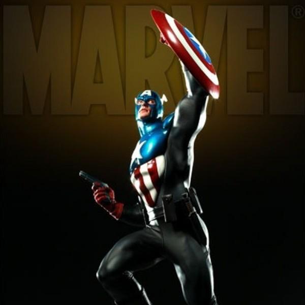 Captain America: James 'Bucky' Barnes - Premium Format Statue