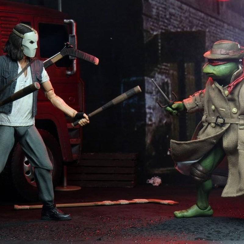 Casey Jones & Raphael in Disguise - Teenage Mutant Ninja Turtles - Actionfiguren Doppelpack