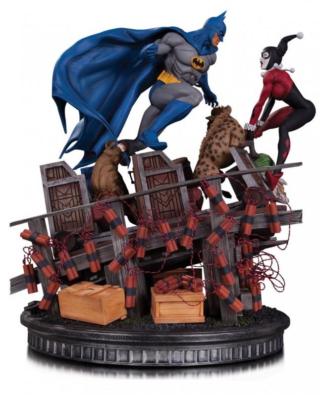 Batman VS. Harley Quinn - 1/8 Scale Diorama