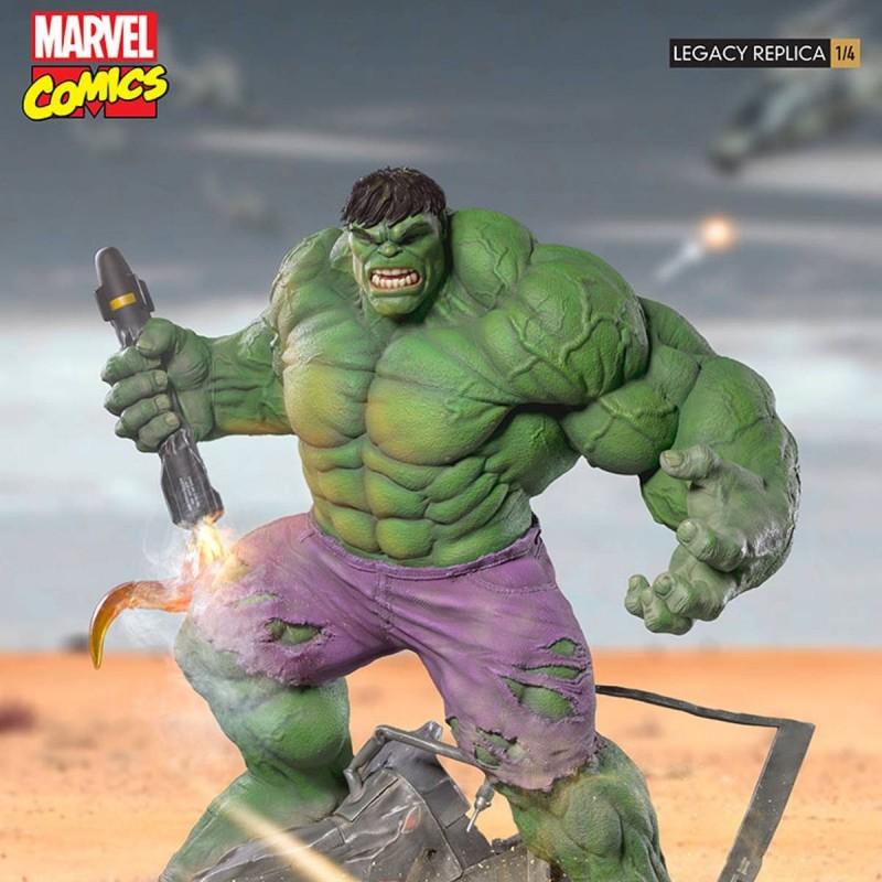 Hulk - Marvel Comics - 1/4 Scale Legacy Replica Statue