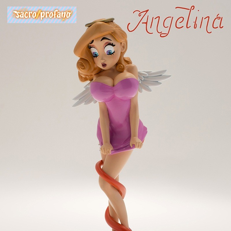 Angelina Sacro e Profano Statue