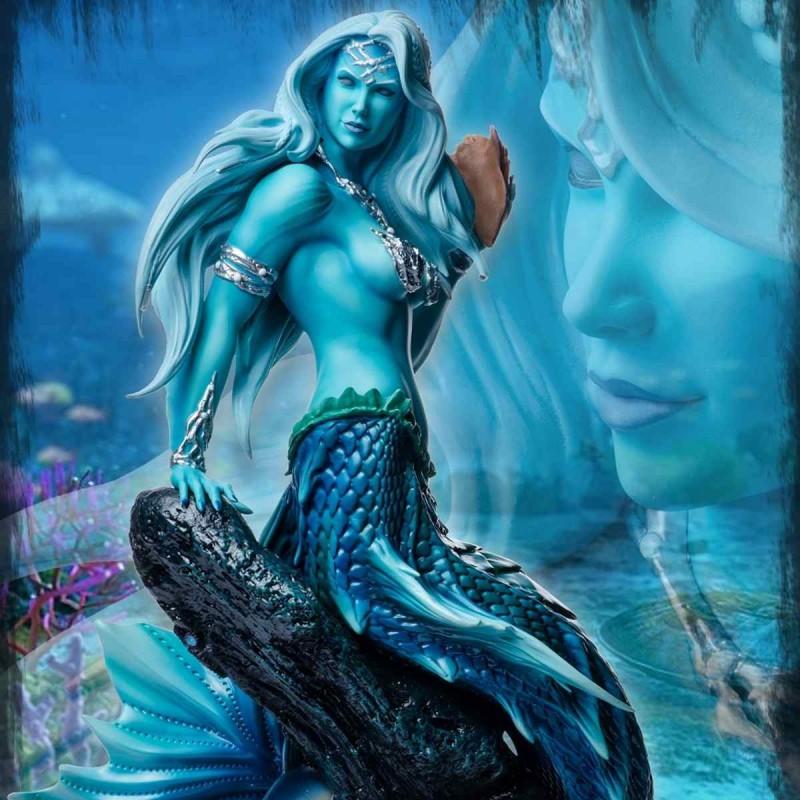 Sharleze The Mermaid Blue Skin - 1/4 Scale ComiX Statue