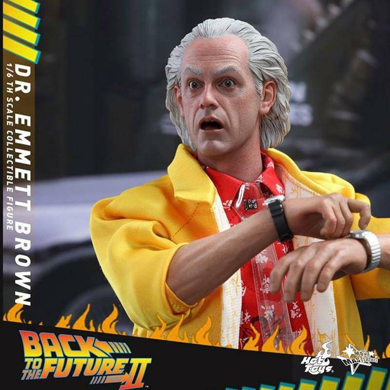 Dr. Emmett Brown - Back to the Future II - 1/6 Scale Figur