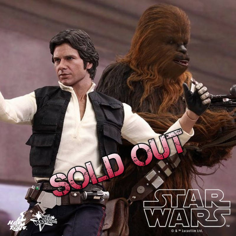 Han Solo & Chewbacca - Star Wars - 1/6 Figuren Set